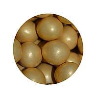 """Посыпка """"Рисовые шарики (золотые) 15 мм."""", 10 шт."""