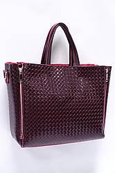 Женская кожаная сумка Galanty J002-B wine red