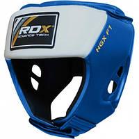 Боксерский шлем для соревнований RDX Blue, фото 1