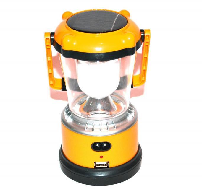 Лампа акумуляторна від мережі і від сонця! SN-968