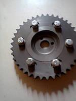 Разрезная шестерня двигателя ВАЗ 2101-07, 2121
