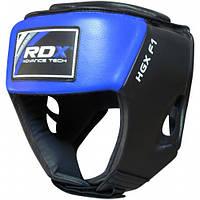 Боксерский шлем RDX Blue new, фото 1