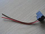 Колодка Фишка разъем проводки фарная под цоколь H7 на 2 контакта с проводами черная Украина Уценка соскол, фото 5