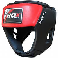 Боксерский шлем RDX Red new, фото 1