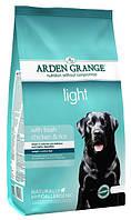 Диетический корм для собак Arden Grange Light Chicken & Rice