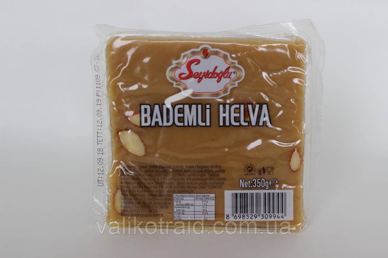 Кунжутна Халва МИГДАЛЬНИЙ МАРЦЕПАНИ, 350г, турецькі солодощі