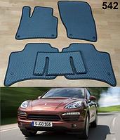 Коврики на Porsche Cayenne '10-17. Автоковрики EVA, фото 1