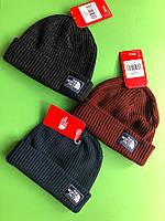 Теплая шапка на флисе The North Face Оригинал 3 цвета