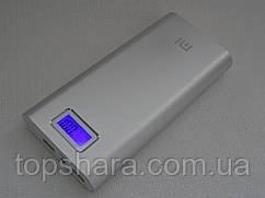 УМБ Xiaomi Mi Power Bank  28800 mAh 2xUSB с экраном Silver
