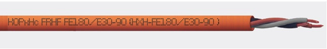 Кабель силовой огнестойкий КОРкHс FRHF FE180/E30-90 0,6/1 кВ  (НХН-FE180/E30-90)  4х2,5 (Ек 30)