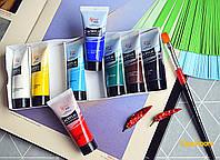 Набор акриловых красок 8*20мл, ROSA Studio