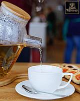 Набор: Чайная чашка 240мл и блюдце 6 пар Wilmax от Юлии Высоцкой WL-880105-JV, фото 1