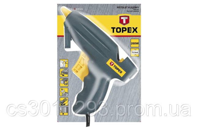 Пистолет клеевой Topex - 200 Вт, 12 г/мин, фото 2