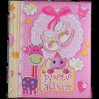 Детский магнитный фотоальбом с аппликацией для девочки