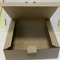 "Коробка квадратная ""крафт"" 22*22*6 (код 03889)"