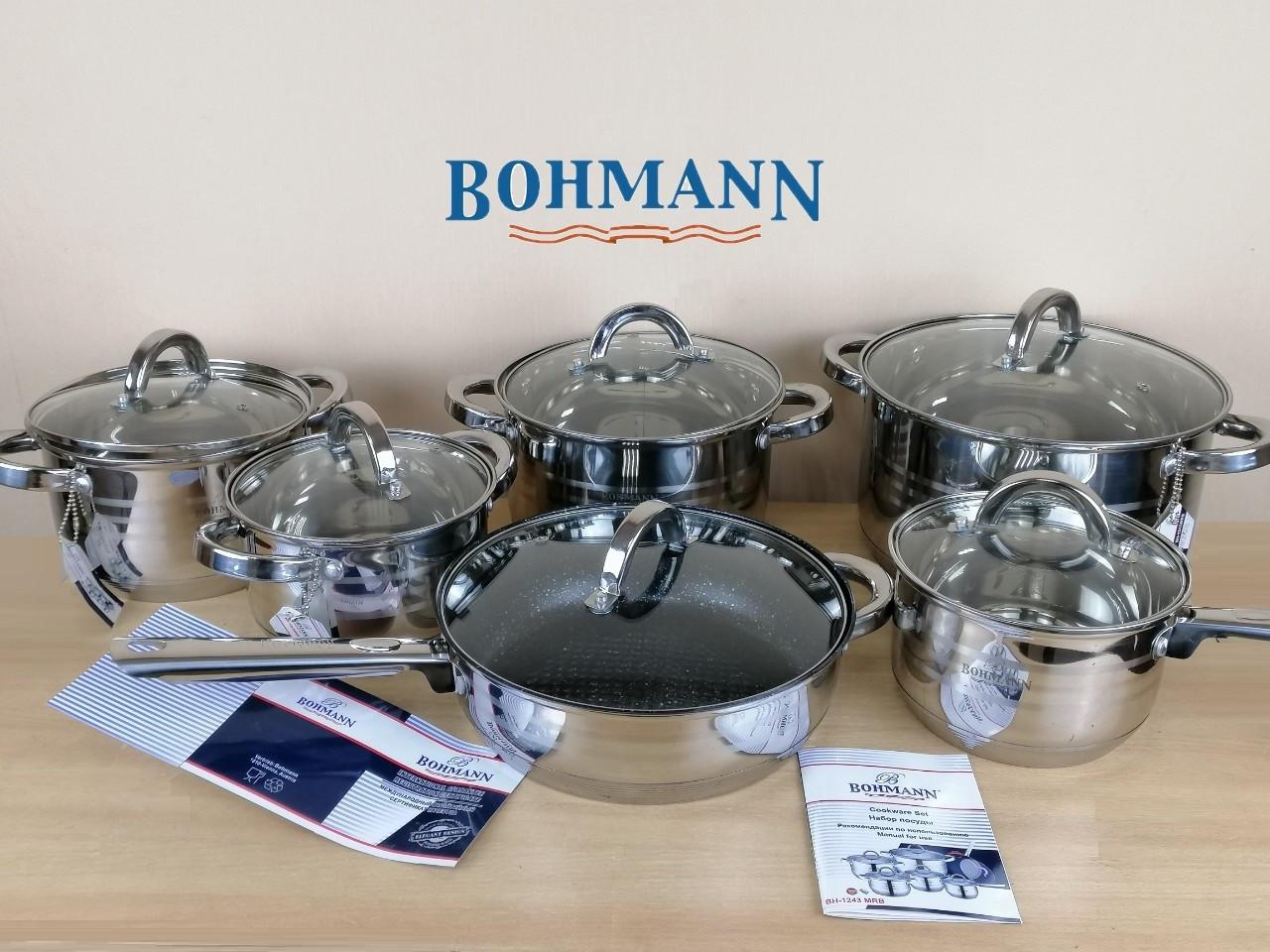 Набор посуды 12 предметов Bohmann 1243