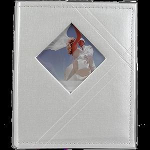 Свадебный фотоальбом на 200 фотографий белого цвета