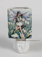 Фарфоровый ночник (светильник) Классика Pavone