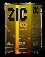 Синтетическое моторное масло ZIC XQ 5W-40 ✔ 4л.