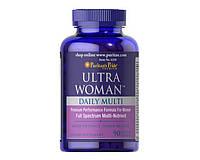 Витамины для женщин Puritan's Pride Ultra Woman™ Daily Multi Timed Release 90 таб.
