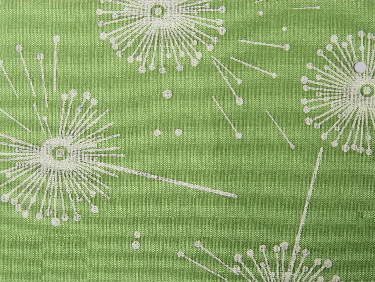 Рулонные шторы Ткань Одуванчик Ментол (Квиты 5428/7)