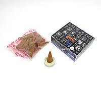 Благовония Super Hit dhoop cones Satya 12шт/уп. Арома-конусы Супер Хит (32423)