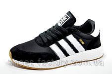 Мужские кроссовки в стиле Adidas Originals Iniki Runner, Black\White, фото 2