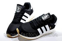 Мужские кроссовки в стиле Adidas Originals Iniki Runner, Black\White, фото 3