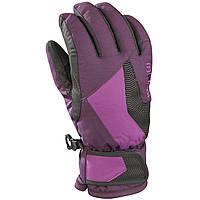 Перчатки детск. Kombi Magic mountain размер L, dark purple/dahlia