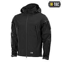 Куртка непромокаемая Soft Shell M-Tac Flex black, фото 1