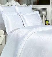 Постельное белье с кружевом SECRET LUX производство Турция торговой марки Nazsu