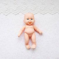 Лялька-пупс голенький - миниатюра, 13 см
