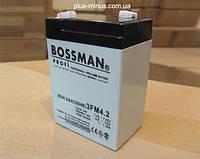 Аккумулятор 6V 4.2Ah Bossman profi  3FM4.2C - LA642