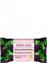 "Мыло косметическое Blackberry & Vanilla 75г ""Fresh Juice"""