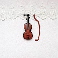 1:12 Миниатюра Скрипка 8*3 см