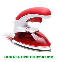 Ручной отпариватель 2 в 1 паровой утюг с щеткой GHD HT-558B Красный, фото 1