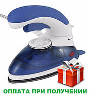 Ручной отпариватель 2 в 1 паровой утюг с щеткой GHD HT-558B Синий, фото 1