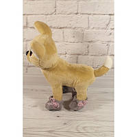 Башмачки серые с декором - одежда и обувь для собачек Чи Чи Лав (Chi Chi Love)