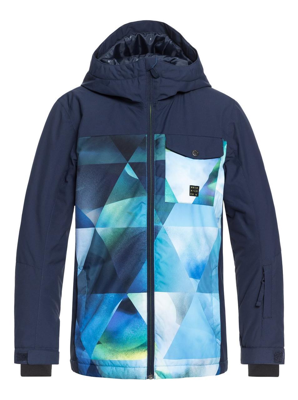 b58c80fc Сноубордическая куртка Quiksilver ( EQBTJ03080 ) MISS BLK YTH JK B SNJT 2019  - Интернет супермаркет