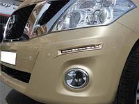 Дневные ходовые огни на Nissan Patrol 2010 года, фото 1