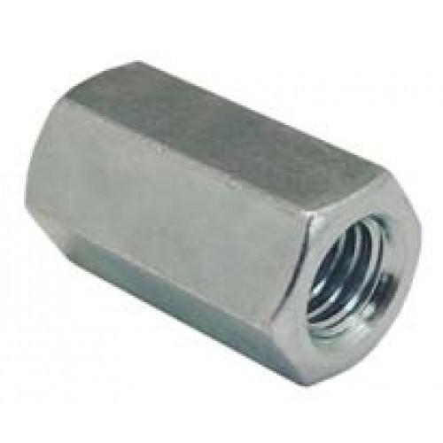 Гайка соединительная М6x18 DIN 6334 цб