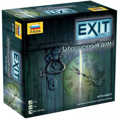 Exit Квест: Заброшенный дом настольная игра