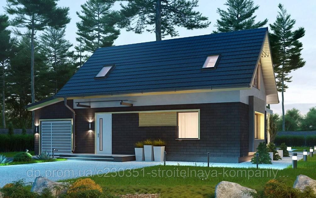 Проект дома uskd-55