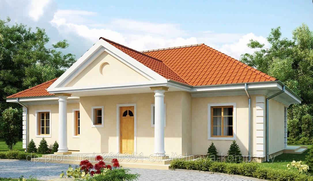Проект дома uskd-56