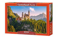 "Пазлы ""Замок Нойшванштайн, View of the Neuschwanstein Castle, Germany"", 1000 эл"