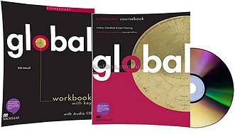 Английский язык / Global / Coursebook+Workbook. Учебник+Тетрадь (комплект), Elementary / Macmillan