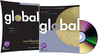 Английский язык / Global / Coursebook+Workbook. Учебник+Тетрадь (комплект), Pre-Intermediate / Macmillan