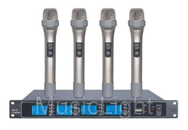 Беспроводная микрофонная система REC-X4