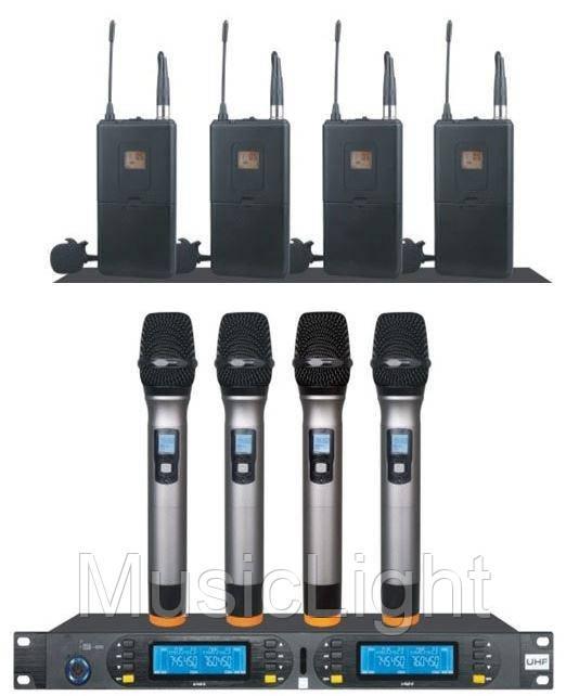 Беспроводная микрофонная система RL-6800MIX