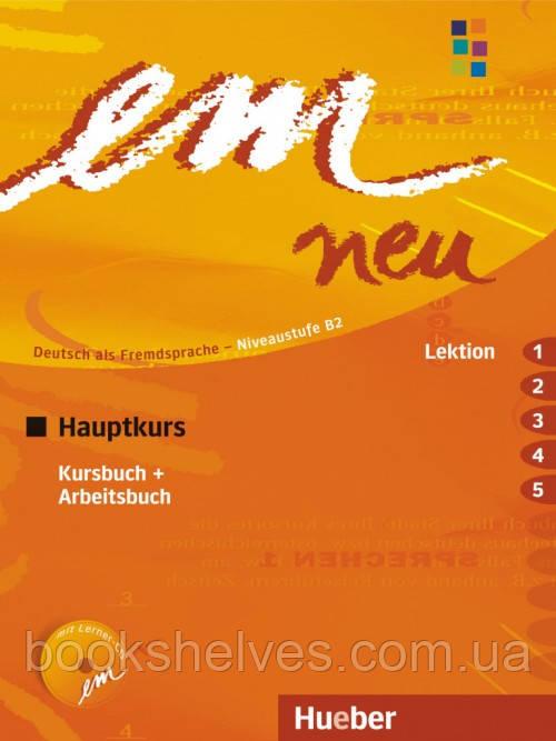 Em neu 2008 Hauptkurs Kursbuch + Arbeitsbuch Lektion 1-5 mit Arbeitsbuch AudioCD